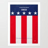 No608 My Creed Minimal M… Art Print