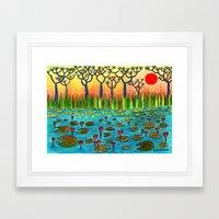Nymphaeas Framed Art Print