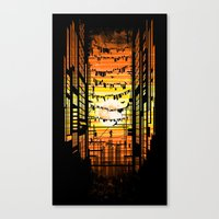 the wires Canvas Print