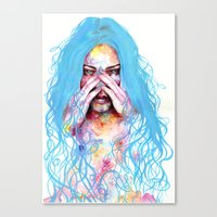 My True Colors Canvas Print