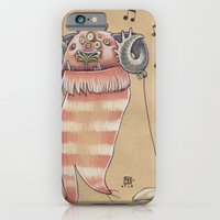 iPhone & iPod Case featuring MUSIC MONSTER by busymockingbird