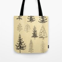 Pines and Spruces Tote Bag