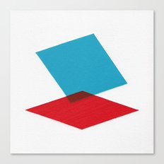 Anaglyph Canvas Print