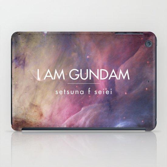 Gundam Retro Space 2 iPad Case