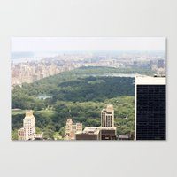 New York/Central Park Canvas Print