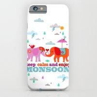 keep calm and enjoy monsoon iPhone 6 Slim Case