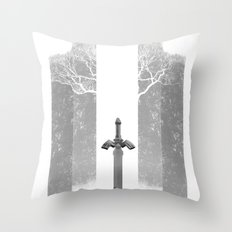 The Legend of Zelda: The Master Sword Throw Pillow
