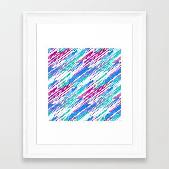 Retro 3 Framed Art Print