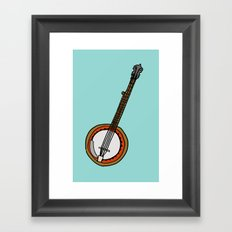 Banjo Framed Art Print
