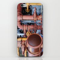 Pipes iPhone & iPod Skin