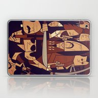 Laptop & iPad Skin featuring Machete by Ale Giorgini