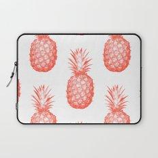 Coral Pineapple Laptop Sleeve