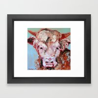 Hereford 2 Framed Art Print