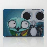 The Owl Jack And Sally iPad Case