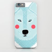 iPhone & iPod Case featuring Winter Wolf  by Alice Rebecca Potter