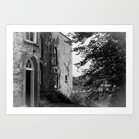 My Little House In The C… Art Print