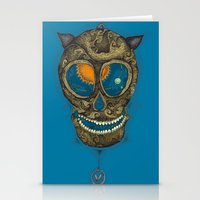 the pendulum Stationery Cards