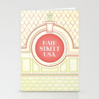 Main Street USA Stationery Cards