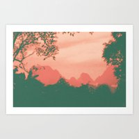 Through The Jungle Art Print