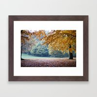 Secret Autumn Framed Art Print