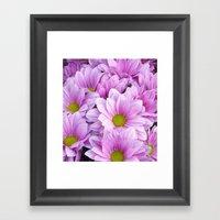 Lovely In Lilac Framed Art Print
