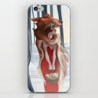 The Red Riding Hood iPhone & iPod Skin