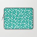 Control Your Game - Turquoise Laptop Sleeve