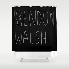 brendon walsh Shower Curtain