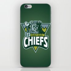 Forest Moon Chiefs - Green iPhone & iPod Skin