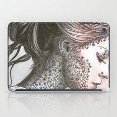 Flower Face  iPad Case