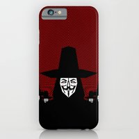 iPhone & iPod Case featuring Million Mask March by chobopop