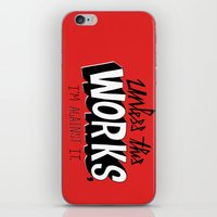 Mad Men: Unless this work, I'm against it. iPhone & iPod Skin