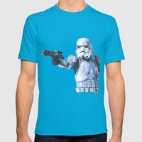 Stormtrooper Mens Fitted Tee Teal SMALL