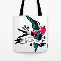 Hirondelle Tote Bag