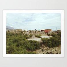 The Lost Pueblo Art Print