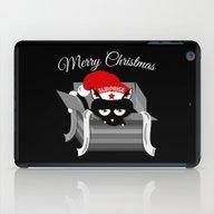 Naughty Cat Merry Christ… iPad Case