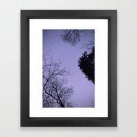 A Starry Night Framed Art Print