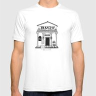 General Store Mens Fitted Tee White SMALL