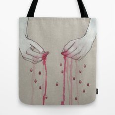 song for pomegranates Tote Bag