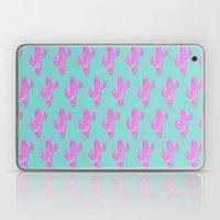 Linocut Cacti Blink Laptop & iPad Skin