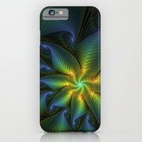 iPhone Cases featuring Fantasy Star, Abstract Fractals Art by gabiw Art