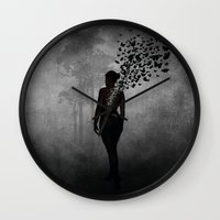 The Butterfly Transforma… Wall Clock