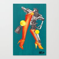 God and the State: Fig 2 - Conquistador Canvas Print