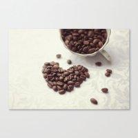 Coffee Love Canvas Print