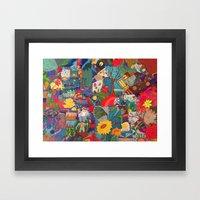 Rompecabezas Framed Art Print