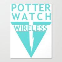 Potterwatch Wireless Canvas Print