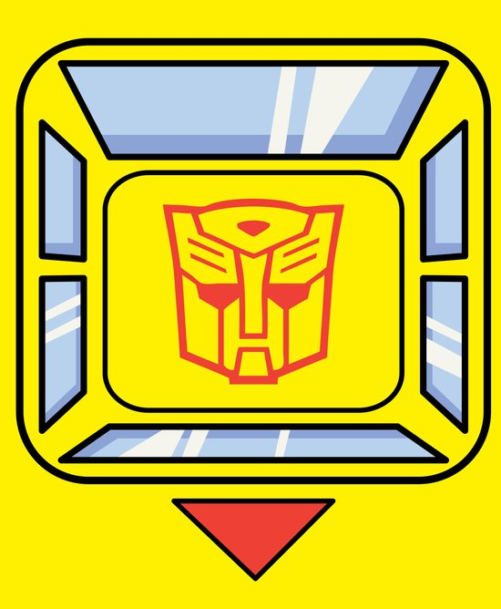 Transformers - Bumblebee Canvas Print