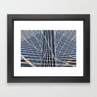 Staccato Framed Art Print