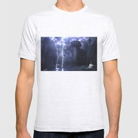 Alien Thunder  Mens Fitted Tee Ash Grey SMALL