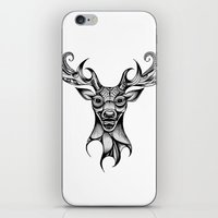 Henna Inspired Stag Head… iPhone & iPod Skin